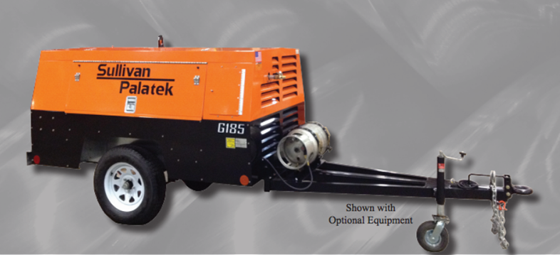 Sullivan-Palatek, Inc. - G185PFO Compressors