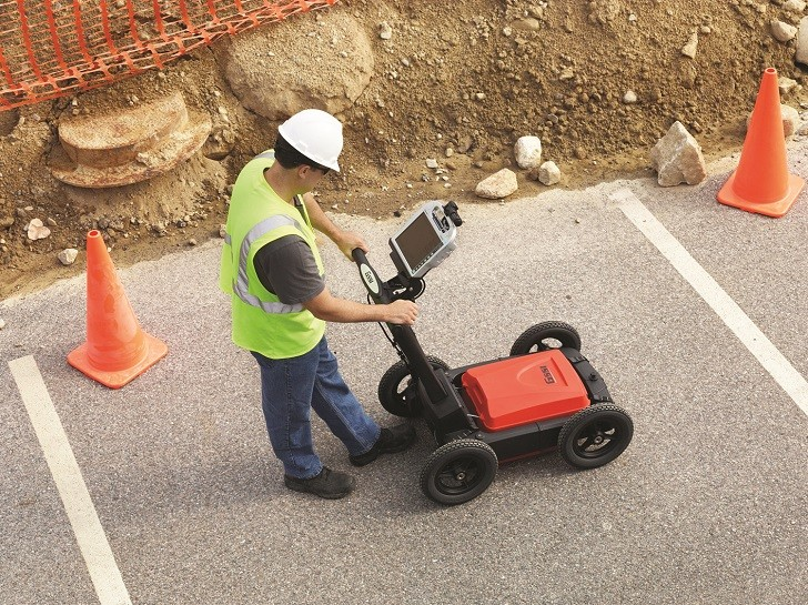 UPDATED UTILITYSCAN GPR DEVICE