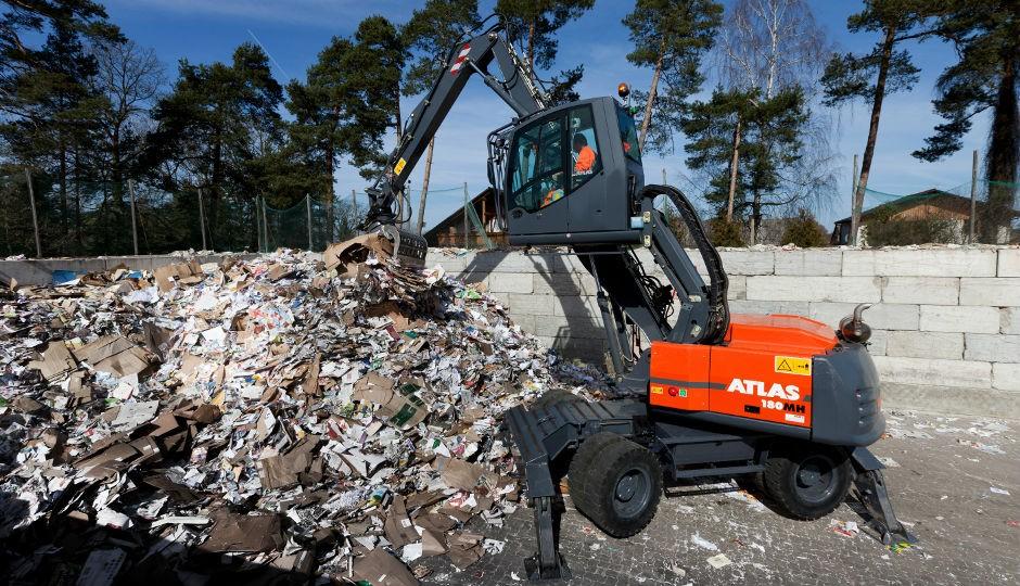 New Dealer for Atlas Material Handlers and Excavators in Western Canada