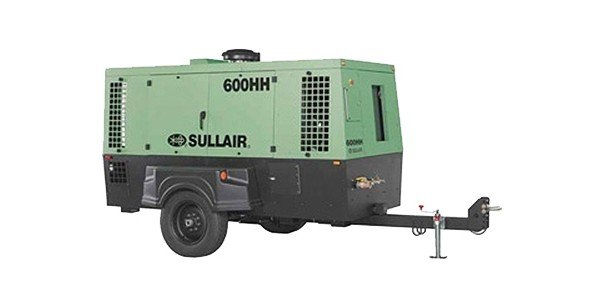 Sullair - 600 AF System Single Axle Tier 3Family Compressors