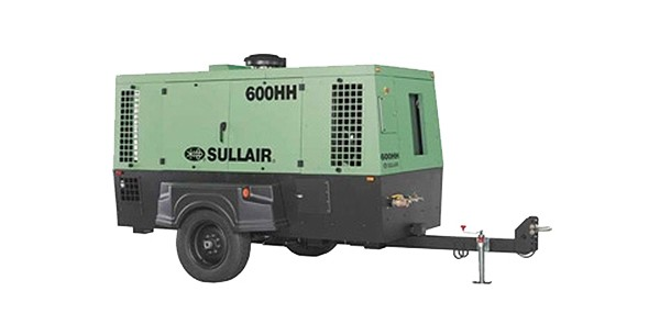 Sullair - 600 AF System Single Axle Tier 2  Compressors