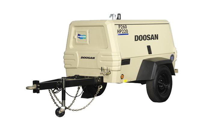 Doosan Portable Power - P260/HP220WYM-T3 Compressors