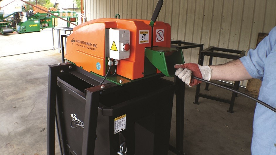 450 DX Scrap Chopper allows for more efficient, affordable recycling of scrap banding