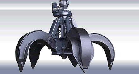 Bateman Manufacturing - 200 series: 5 Tines Grapples