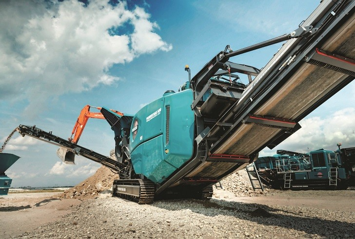 Premiertrak 600 crusher available in North America, 320SR features updates