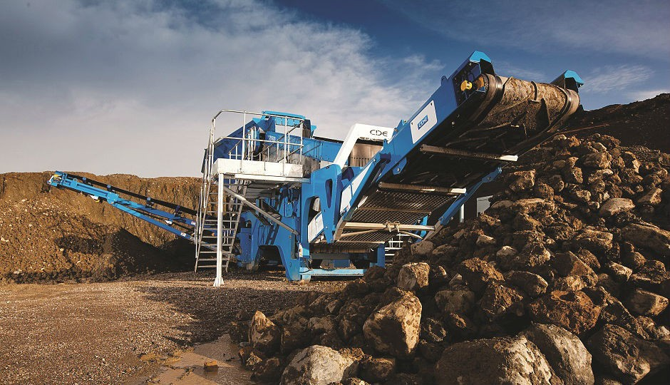 CDE Global recognized for advances in C&D recycling technology