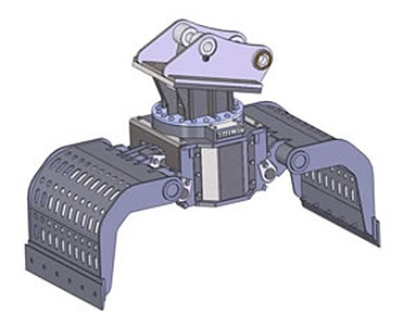 Bateman Manufacturing - Sorting Grapples: 150 Series Grapples