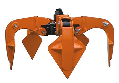 Kinshofer North America - KM 650 large Orange Peel Grapples
