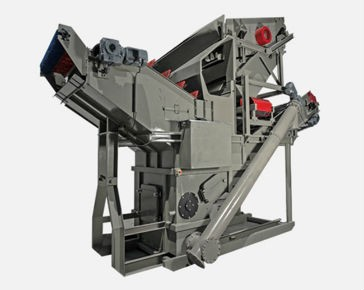 McLanahan Material Recycler offers three separation methods in one machine, ideal for glass