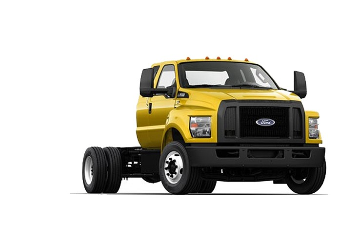 Ford Motor Company - 2016 F-650 SD Gas Pro Loader On Highway Trucks