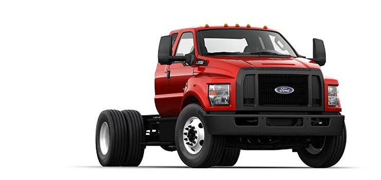 Ford Motor Company - 2016 F-650 SD Diesel Straight Frame On Highway Trucks
