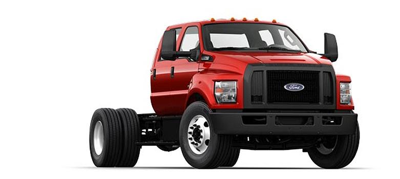 Ford Motor Company - 2016 F-750 SD Diesel Straight Frame On Highway Trucks