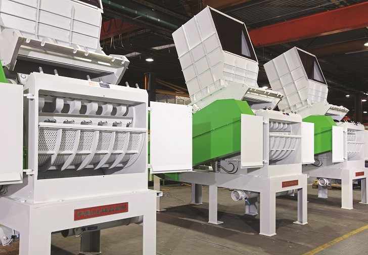 PANTHER granulator from Pallmann designed for efficient PET bottle recycling