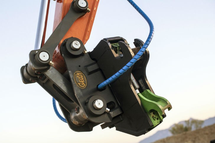 Geith Tilting Coupler for Excavators and Backhoe Loaders