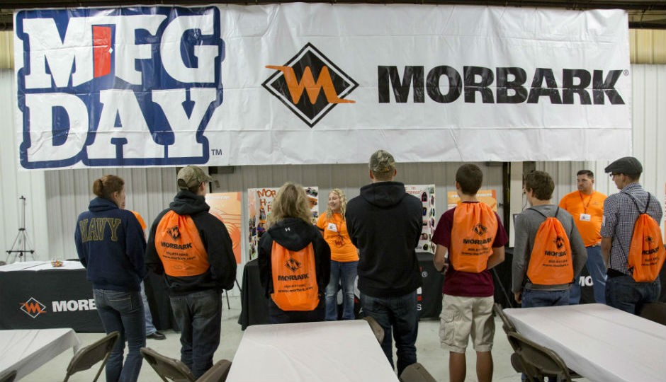 Morbark Celebrates Manufacturing Day with Student Event