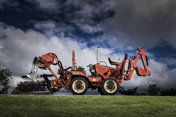 Ditch Witch RT80 Ride-On Trencher for Heavy-Duty Trenching in Small Places