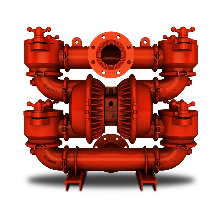 """Wilden Introduces New PS20 102 mm (4"""") Metal AODD Pump with Energy"""