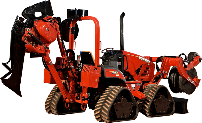 Ditch Witch - RT-80 Quad Trenchers