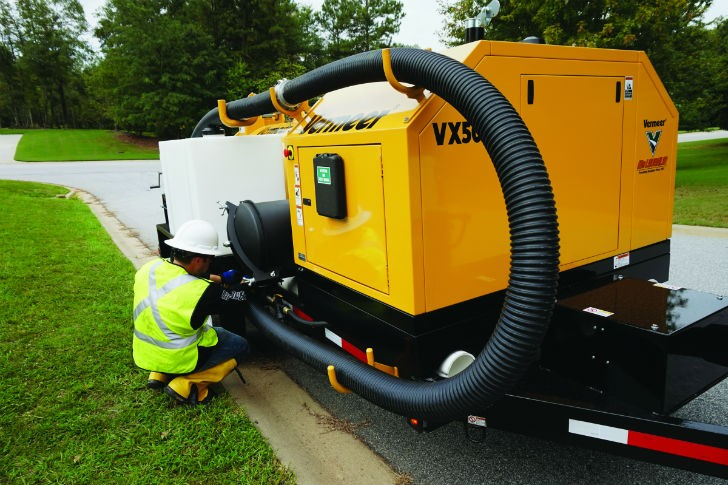 New no-hassle hose on vacuum excavator will save crews time, energy