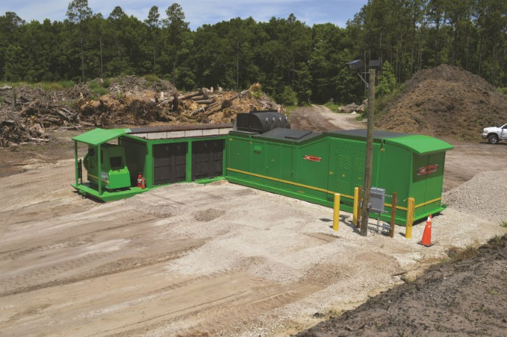 Unique Whole-Log Wood Waste Burner Produces Up To 110 Kw of Fossil