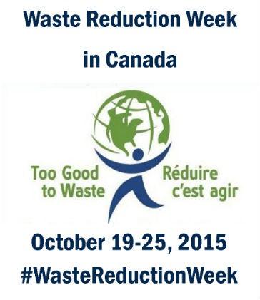 Waste Reduction Week is October 19-23