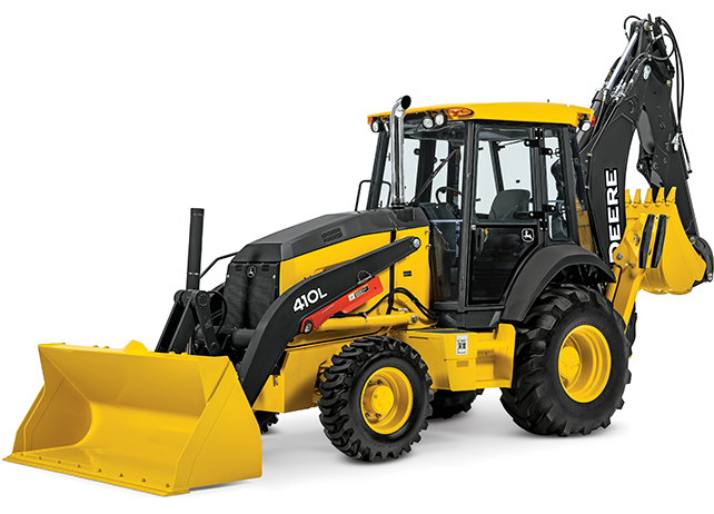 John Deere Construction & Forestry - 410L Tier 3 Backhoe Loaders