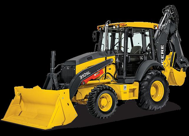 John Deere Construction & Forestry - 310SL Tier 3 Backhoe Loaders