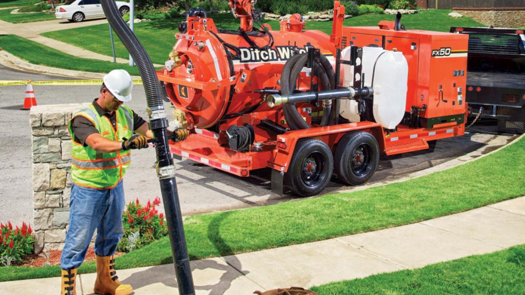 Ditch Witch - FX50 Vacuum Excavators