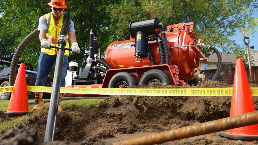 Ditch Witch - MV800 Vacuum Excavators