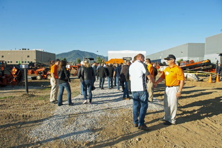 The 2015 international customer event was held at the Ditch Witch Barcelona Support Center.