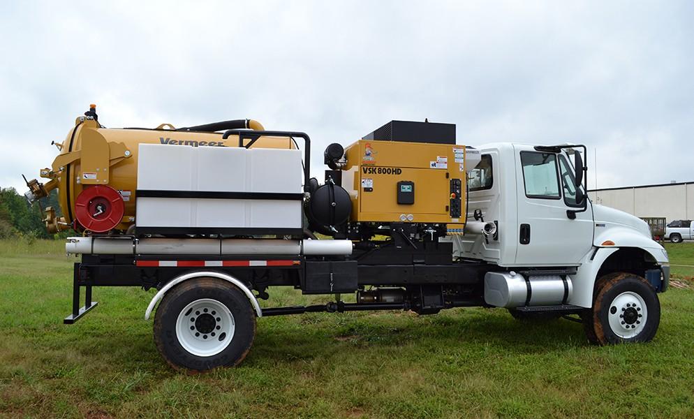 McLaughlin - Vermeer VX70 and VX80 series Vacuum Excavators