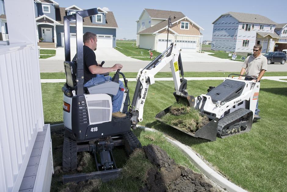 Bobcat Company - 418 Excavators