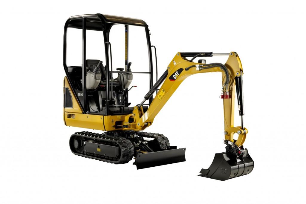 Caterpillar Inc. - 301.4C Compact Excavators