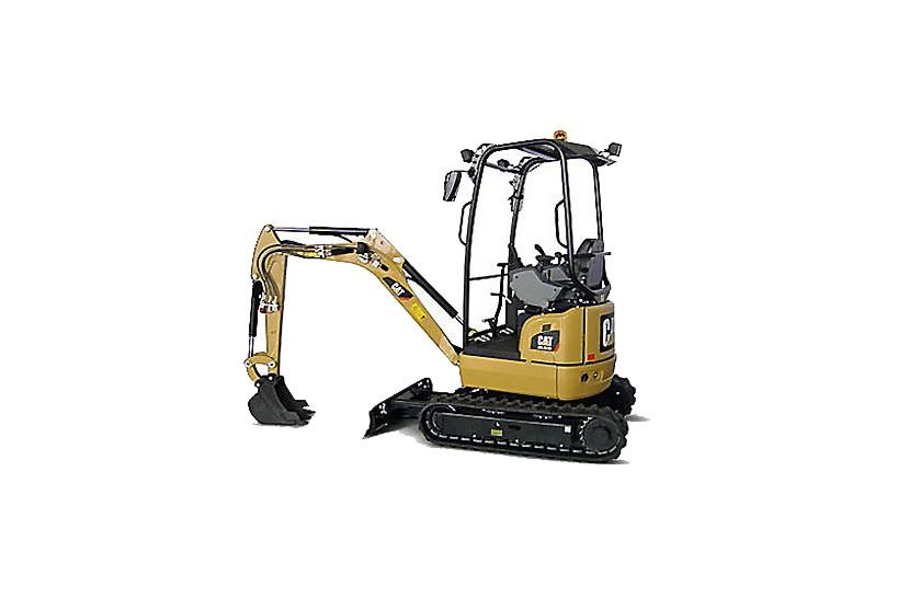 Caterpillar Inc. - 301.7D CR Compact Excavators