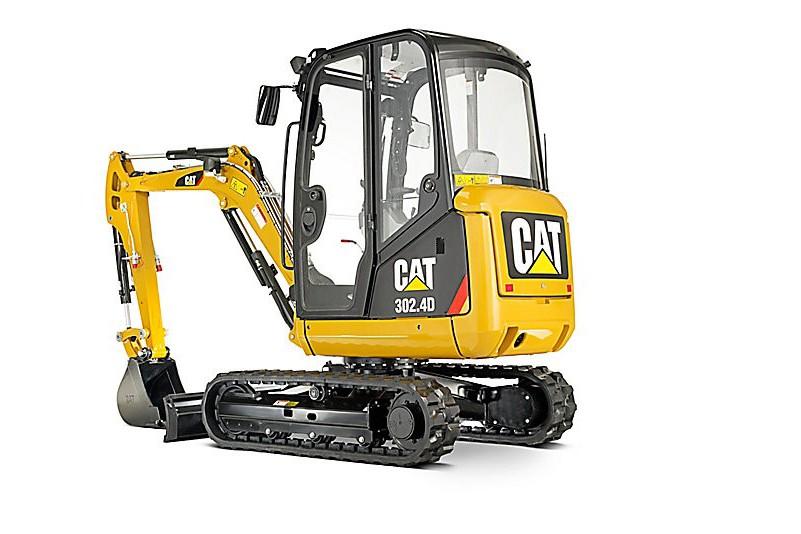 Caterpillar Inc. - 302.4D Compact Excavators