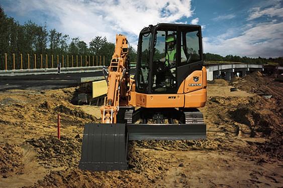 Case Construction Equipment - CX55B Excavators