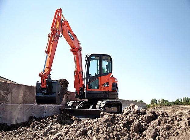 Doosan Infracore North America LLC - DX85R-3 Excavators