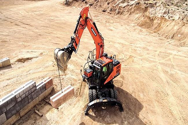 Doosan Infracore North America LLC - DX140W-5 Excavators