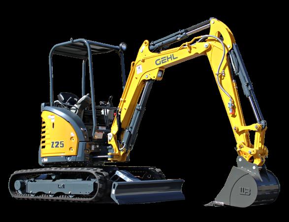Gehl - Z25 Excavators