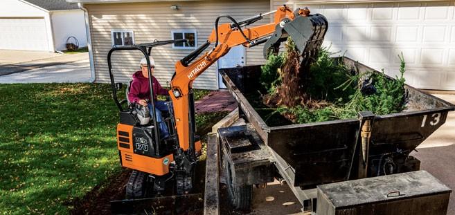 Hitachi Construction Machinery Corporation - ZX17U-5 Excavators
