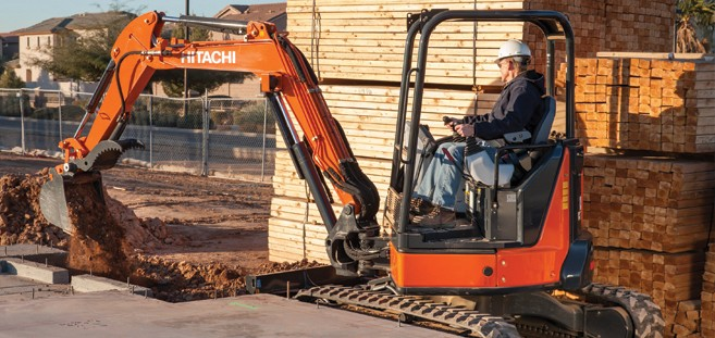 Hitachi Construction Machinery Corporation - ZX35U-5 Excavators