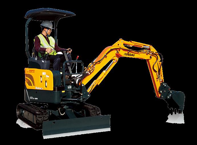 Hyundai Construction Equipment Americas Inc. - R17Z-9A Excavators