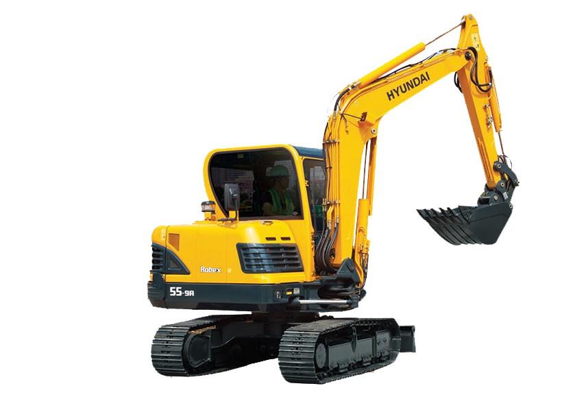 Hyundai Construction Equipment Americas Inc. - R55-9A Excavators