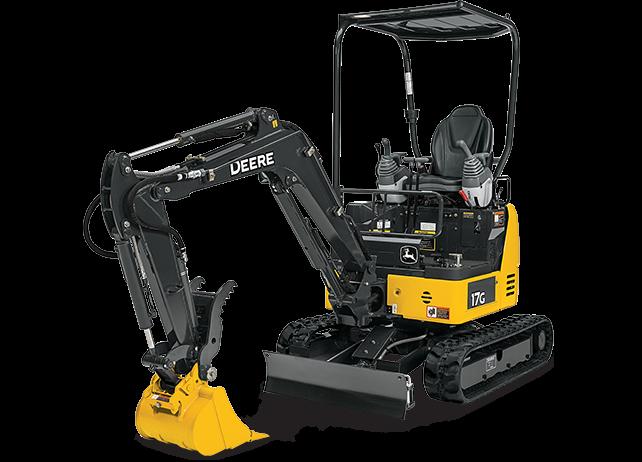 John Deere Construction & Forestry - 17G Excavators