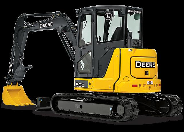 John Deere Construction & Forestry - 50G Excavators