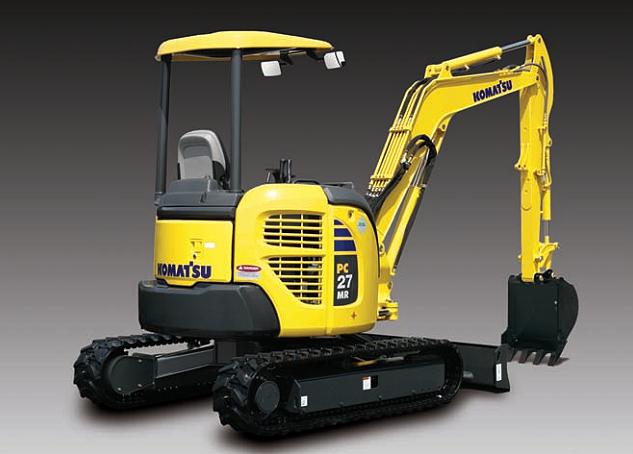 Komatsu America Corp. - PC27MR-3 Excavators