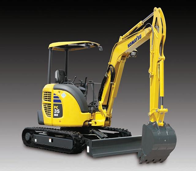 Komatsu America Corp. - PC35MR-3 Excavators