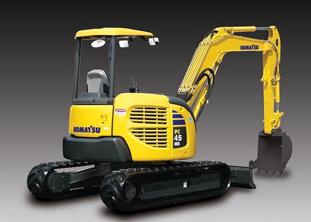 Komatsu America Corp. - PC45MR-3 Excavators