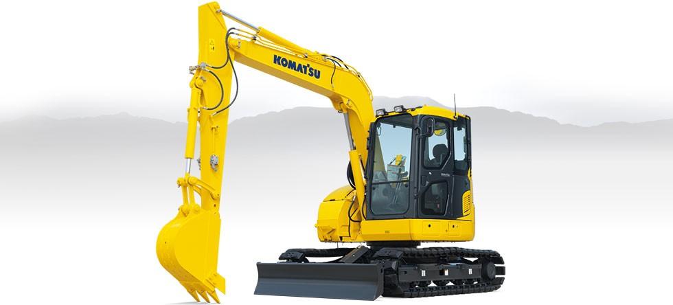 Komatsu America Corp. - PC78US-10 Excavators