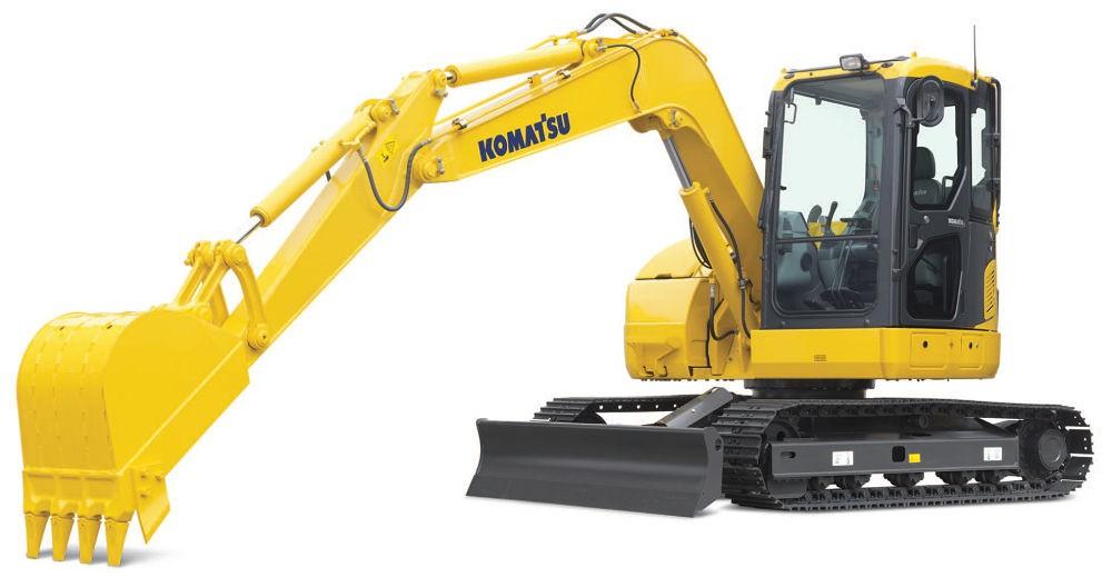 Komatsu America Corp. - PC88MR-8 Excavators